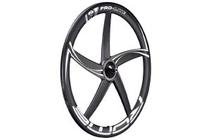 BLB Pro-Lite Rome Full Carbon Five Spoke Voorwiel - Zwart