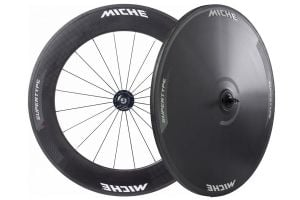 Miche Supertype Pista 88/Disc Track Wielenset - Carbon
