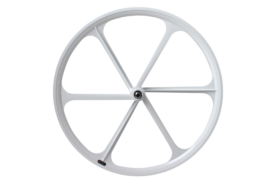 Teny Rim Six Spoke Voorwiel - Wit