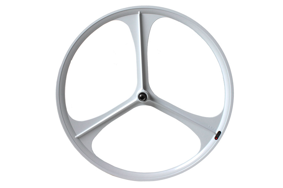 Teny Rim Tri Spoke Voorwiel - Wit