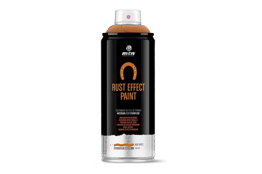Montana MTN PRO Rust Effect Paint 400ml Rood