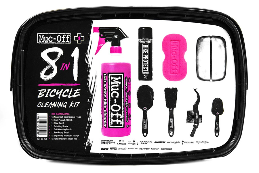 Muc-Off 8 in 1 Fietsreinigingsset