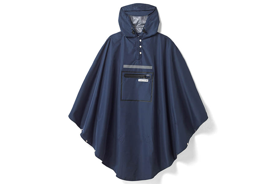 The Peoples Poncho 3.0 - Donkerblauw