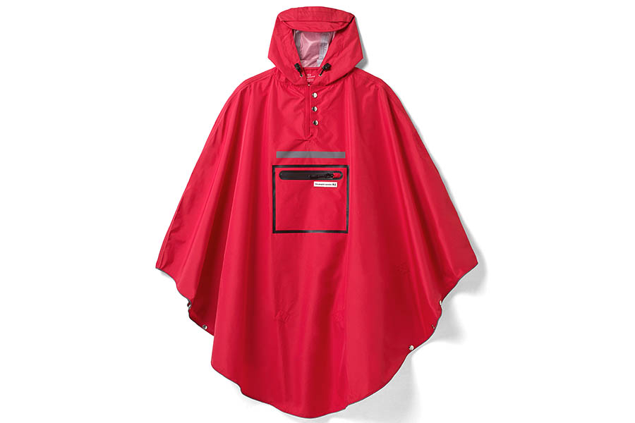The Peoples Poncho 3.0 - Rood
