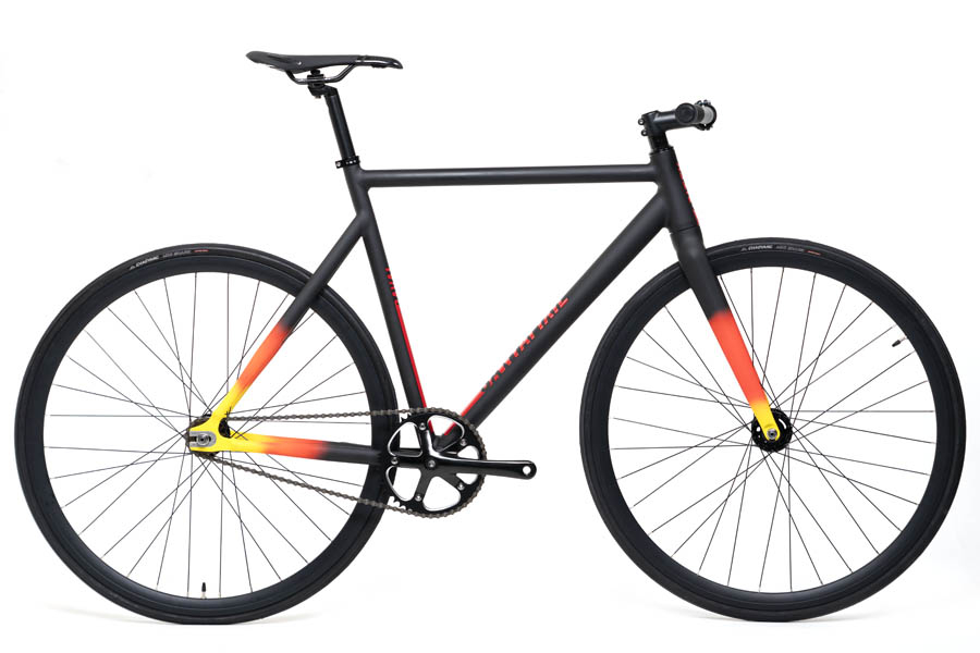 Santafixie Raval Fixie Fiets - Black Sunset
