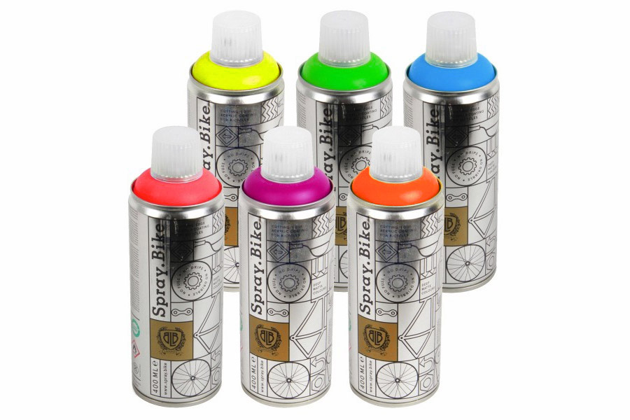 Pintura Spray Bicicleta Fluorescent Collection