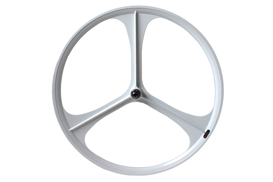 Teny Rim Tri Spoke Achterwiel - Wit
