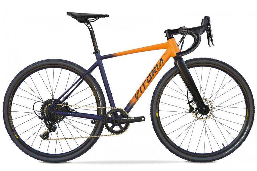Vitoria Nyxtralight Explorer Gravel Fiets - APEX - Orange