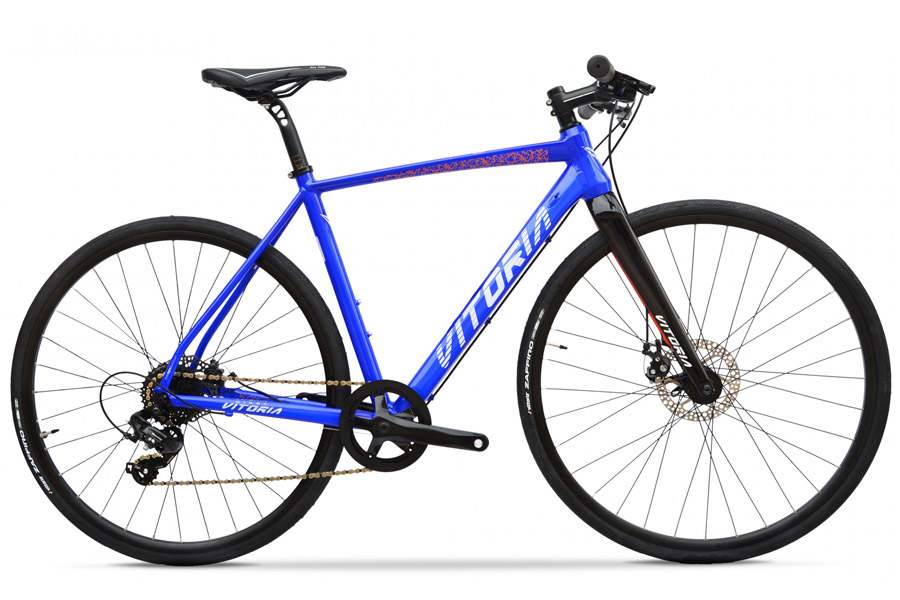 Vitoria Nyxtralight Urban Superlight Fiets - Electric Blue